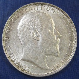 1902 6d Edward VII silver Sixpence - excellent grade with nice lustre